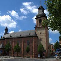 Aschaffenburg -- Sandkirche  [pmk], Ашхаффенбург
