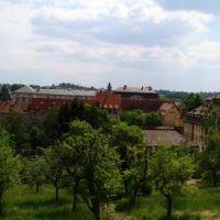 Blick auf Dom von Bamberg vom Michaelsberg, Бамберг
