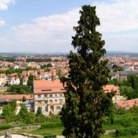 Blick vom Michaelsberg auf Bamberg 150 Grad Blick, Бамберг