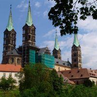 Blick zum Dom, Бамберг