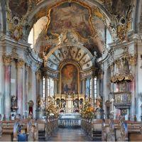 """Das Rokoko-Kleinod Käppele in Würzburg - ein Meisterwerk Balthasar Neumanns / The Würzburg Chapel """"Käppele""""  - a Masterpiece of German Rococo / Please Enlarge, Вюрцбург"""