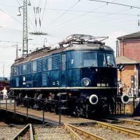 118 016 im BW Würzburg (1984) (pb), Вюрцбург