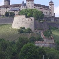 Marienfeste zu Würzburg (fortress above Würzburg, Вюрцбург