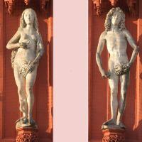 Marienkapelle Würzburg:          Tilman Riemenschneider: Adam und Eva, Вюрцбург