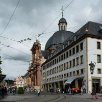 Würzburg, Neumünster(Kommentar1), Buchhandlung am Dom, Вюрцбург