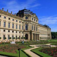 Würzburger Residenz, Hofgarten, Wurzburg, Вюрцбург