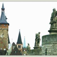 Viele Türme und Brückenfiguren, Вюрцбург