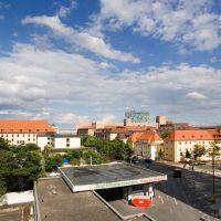 Blick vom Parkhaus Neuer Markt, Ерланген