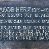 Jakob-Herz-Denkmal, Ерланген