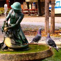 Der Fischerknabe mit Hecht und Taubenpaar, Ерланген