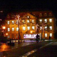 Der Marktplatz nach Weihnachten, Ерланген