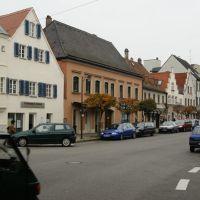 At the corner of Harderstraße and Adolf-Kolping-Straße - На пересечении улиц Harderstraße и Adolf-Kolping-Straße, Ингольштадт