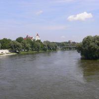 donau river, Ингольштадт