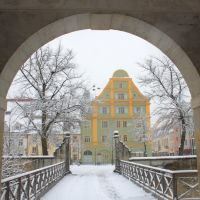 Durchblick zum Paradeplatz, Ингольштадт