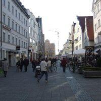 Sétáló utca koradélután. De akkor ki dolgozik?, Ингольштадт