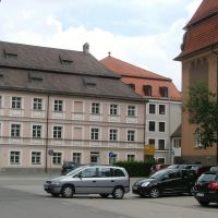 Finanzamt und Wittelsbacher Schule, Кемптен