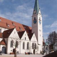 ST. Mang kirche, Кемптен