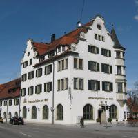 by Werner Rathai - Kempten:Allgäuer Brauereigaststätte zum Stift, Кемптен