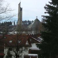 Blick zur Hedwigskirche, Кемптен