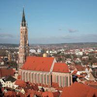 Blick auf die Stadt, Ландсхут
