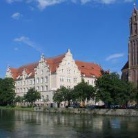 Hauptpostamt, Landshut, Ландсхут