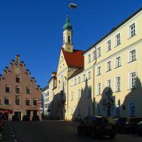 Ursulinen Kloster, Neustadt, Landshut, Ландсхут