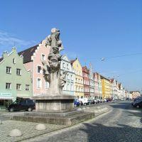 Kriegerdenkmal, Neustadt, Landshut, Ландсхут