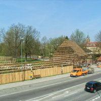 Aufbau auf der Ringelstecherwiese, Landshut, Ландсхут