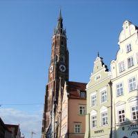 Turm von Sankt Martin, Ландсхут