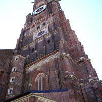Landshut -Bazylika mniejsza Św.Marcina, najwyższa ceglana wieża na świecie / Landshut - Minor Basilica St Martin , highest brick tower in the world. [gr], Ландсхут