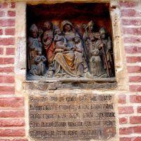 Landshut, kościół św.Jodoka, płaskorzeżba / Landshut , st.Jodok, relief [gr], Ландсхут