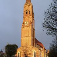 St. Jodok, Church, Landshut, Germany, Ландсхут