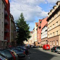 Selbst in den kleinsten Nebenstraßen..., Нюрнберг