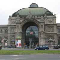 Nürnberg Hauptbahnhof (Central Railway Station of Nuremberg) (Jun 19, 2003), Нюрнберг