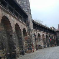 Frauentormauer - Nuremberg, Нюрнберг