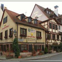 Historische Bratwurstküche, Нюрнберг