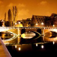 #34 Maxbrücke- Nürnberg:  Éjszakai tükröződés - Night reflection - Németország, Нюрнберг