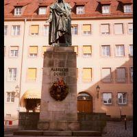Nürnberg, Albrecht Dürer szobra, Нюрнберг