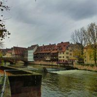 Maxbrücke und Pegnitz-Wehr Nürnberg, Нюрнберг