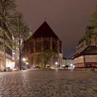 Nürnberg bei Nacht-Lorenz Kirche-November-2013-D, Нюрнберг