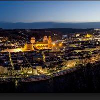 Passau bei Nacht, Пасау