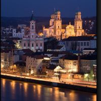 Passau Dom bei Nacht, Пасау