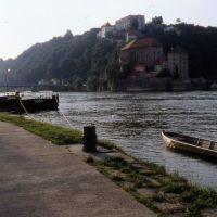 el Danubio en Passau, Пасау