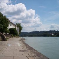 Passau, Inn River,  Bavaria, Germany, Пасау