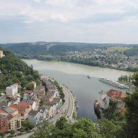 Zusammenfluss dreier Flüsse, Пасау