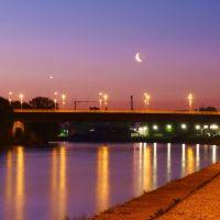 Venus und Aschmond über der Nibelungenbrücke, Регенсбург