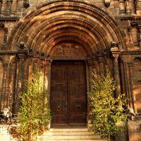 Romanisches Portal Schottenkirche, Регенсбург