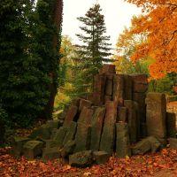 Basalt im Herzogpark, Регенсбург