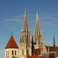 Gothic skyline, Регенсбург