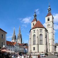 Regensburg, Neupfarrplatz, Регенсбург